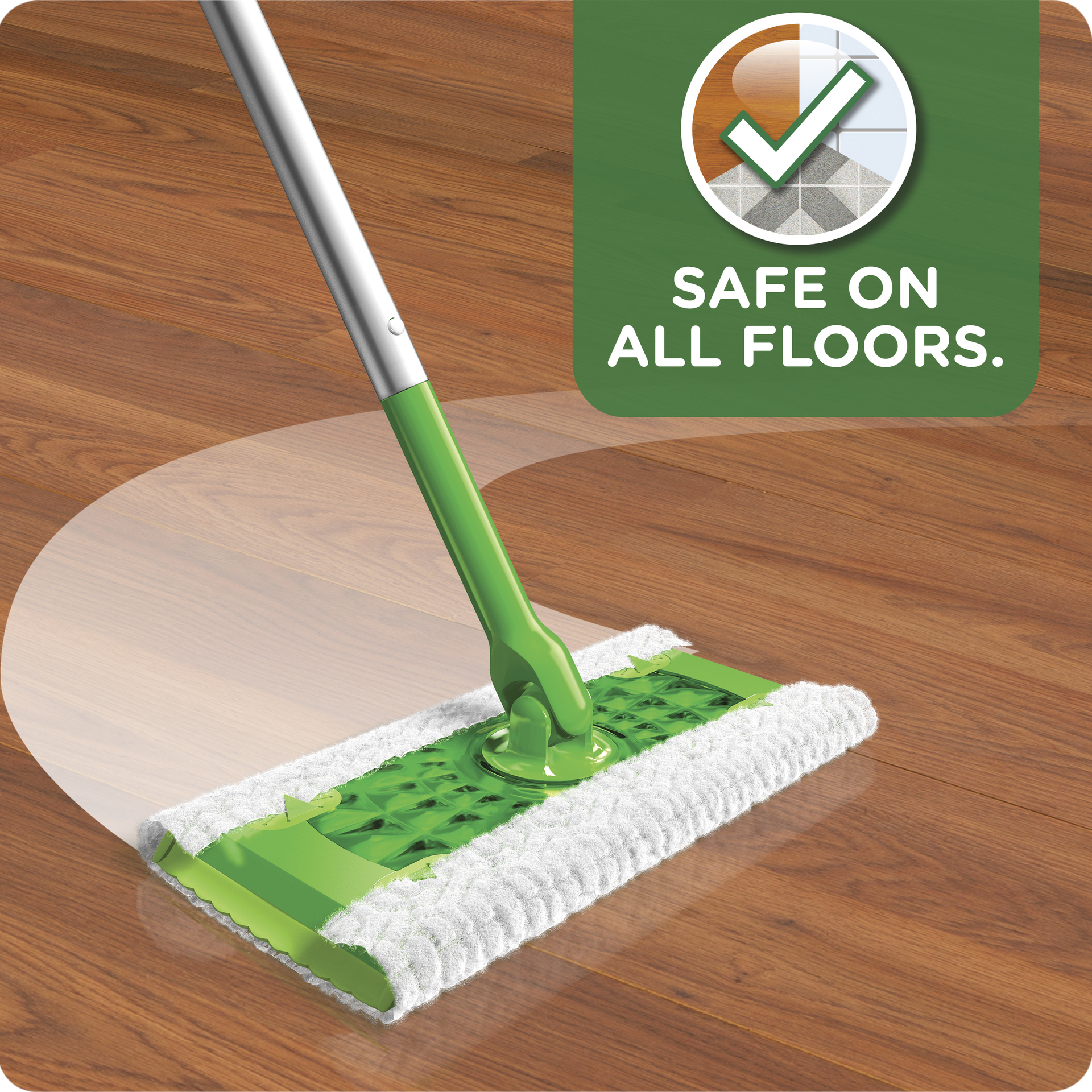 Swiffer Sweeper Dry Wet All Purpose Floor Mopping And Cleaning