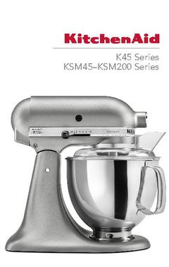 Classic™ Series 4.5-Quart Tilt-Head Stand Mixer Use &