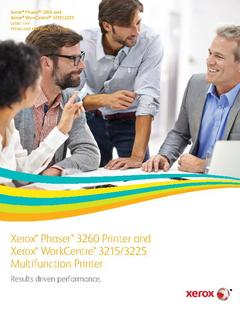 View Brochure - Phaser 3260 PDF