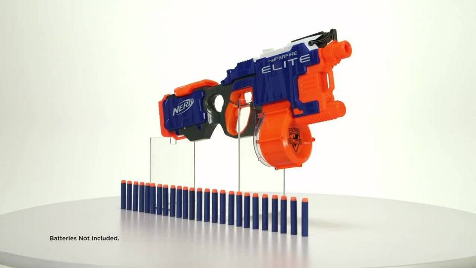 Nerf N-Strike Elite HyperFire - 360° View
