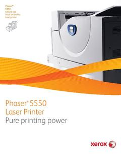 View Phaser 5550 Brochure PDF