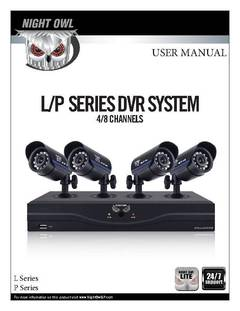 L Series 4 Channel User Manual for L-45-4511 - opens PDF