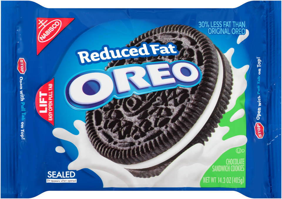 Nabisco Oreo Birthday Cake Flavor Creme Sandwich Cookies 1525 oz