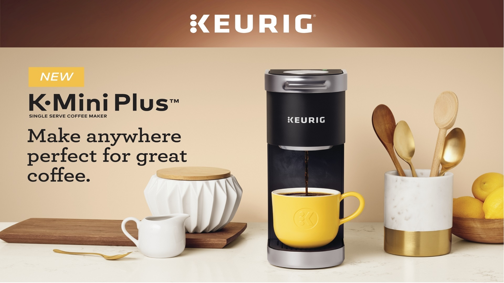 Keurig k mini plus single serve coffee maker