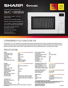 View SMC1585BW Spec Sheet PDF