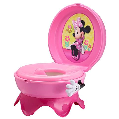 disney baby minnie mouse 3 in 1 potty system