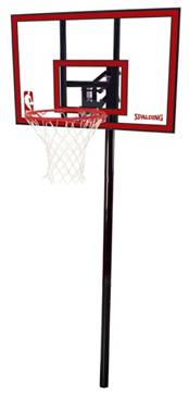 Youth Spalding Portable Basketball Hoop System Walmart Com