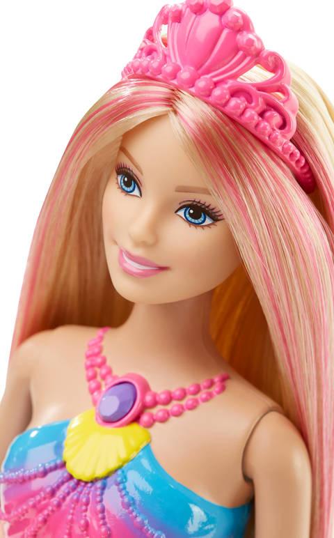 Barbie Rainbow Lights Mermaid Doll Walmartcom
