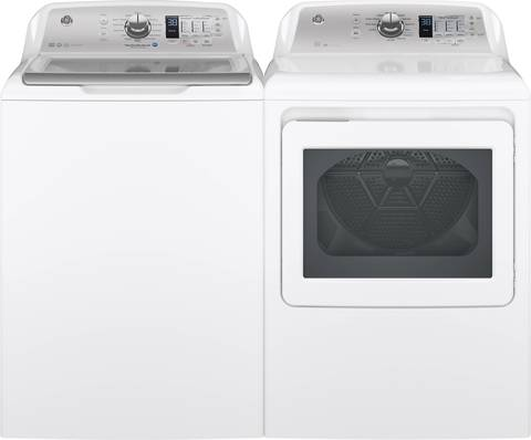 matching dryer in electric and gas models
