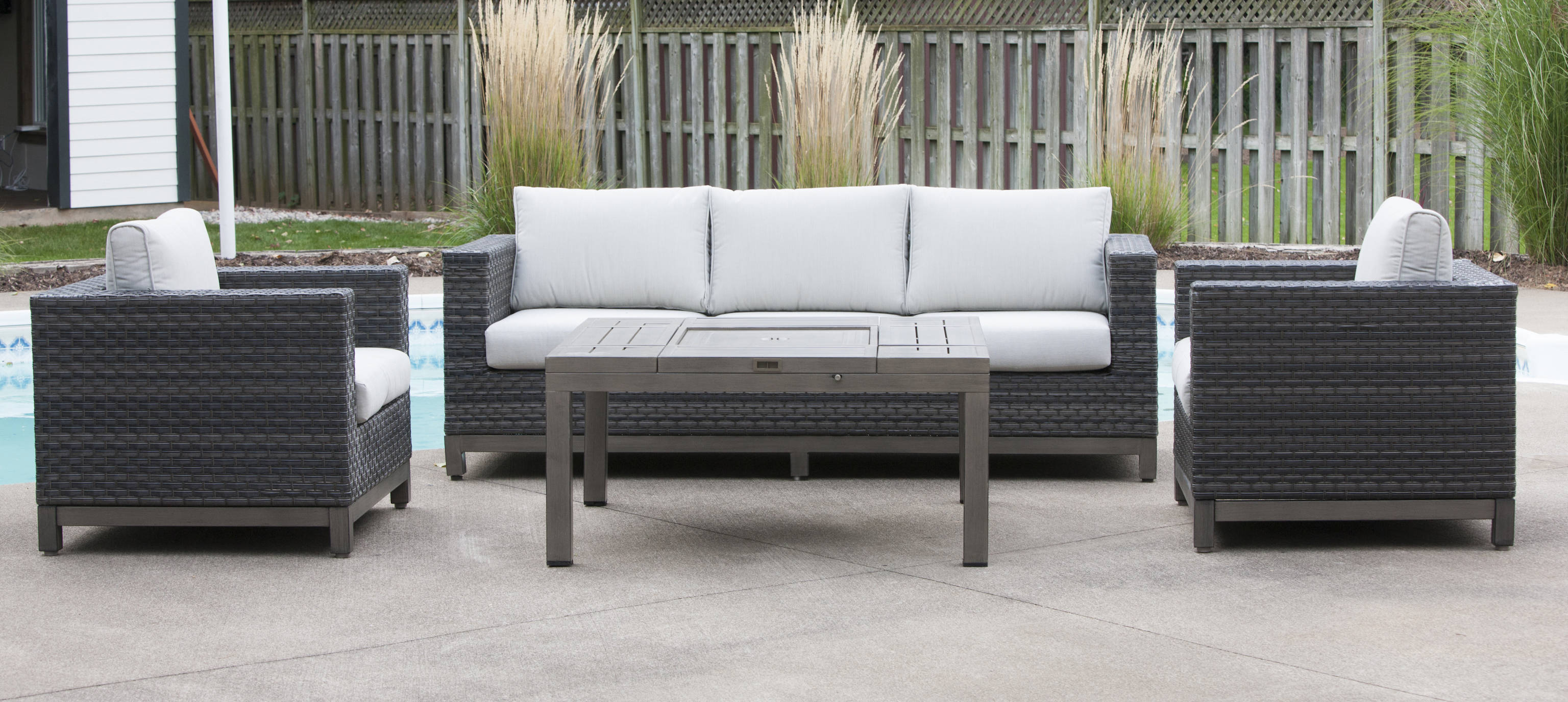 outdoor tierney set furniture sectional patio free wicker today shipping product piece home sofa garden corvus overstock