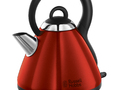 Russell Hobbs 19140 Heritage Kettle - Metallic Red
