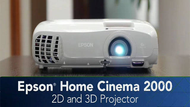 Epson Home Cinema 2000 Projector Overview