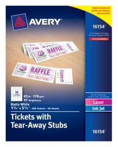 avery business card labels