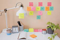 Visualize and remember your tasks with Post-it® Super Sticky Notes