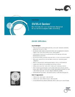 View SV35.4 Series Data Sheet PDF