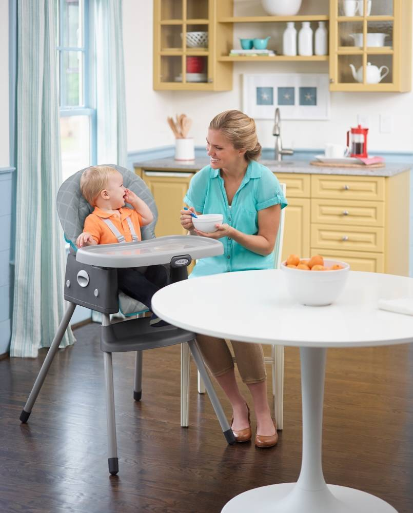 Graco® SimpleSwitch™ High Chair in Finch™ - buybuyBaby.com