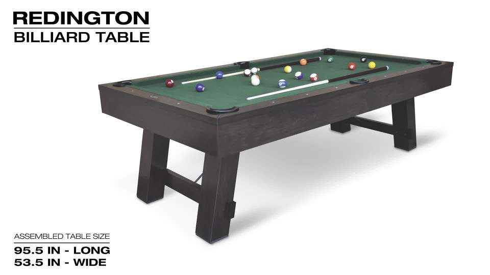 EastPoint Sports Inch Redington Billiard Pool Table Walmartcom - How long is a pool table
