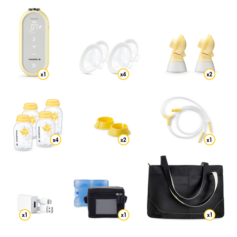 Medela Freestyle Flex Portable Double Electric Breast Pump With