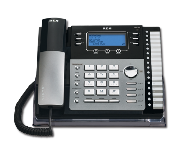 Have You Ever Wanted More From Your Office Phone System? RCA 4 Line Phones  Work Great Alone, Or You Can Custom Build A System Specific To Your Office  Needs.