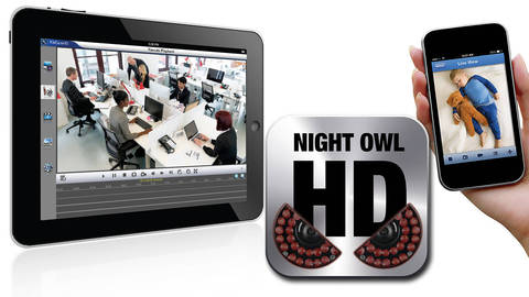 Night Owl HD App Benefits