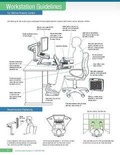 View Workstation Guidelines for Optimal Personal Comfort PDF