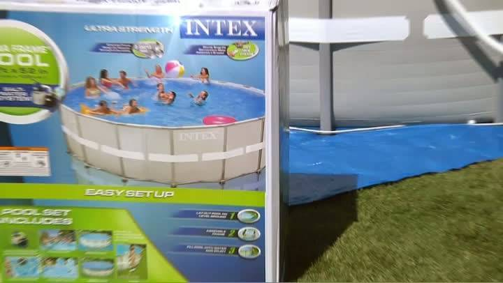 intex 18 x 48 ultra frame swimming pool walmartcom