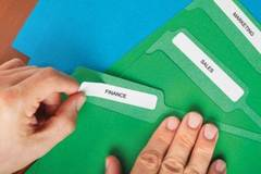 Organize all your file folders