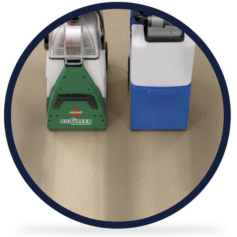 Get professional grade carpet cleaning any time you want with the BISSELL  Big Green Deep Cleaning Machine  it even outcleans the leading rental carpet. Shop BISSELL Big Green 0 Speed 1 75 Gallon Upright Carpet Cleaner