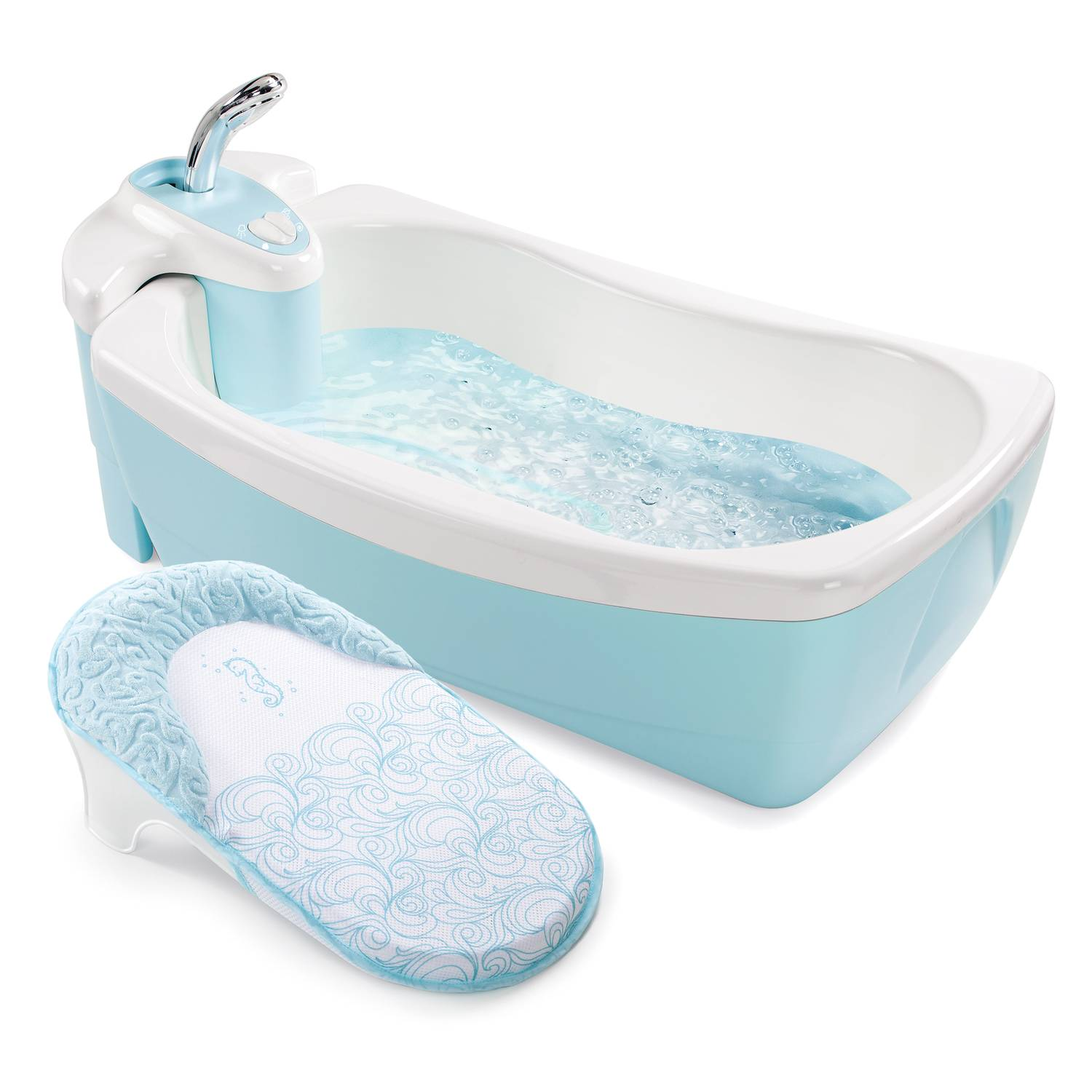 Summer Infant® Lil\' Luxuries® Whirlpool, Bubbling Spa & Shower (Blue ...
