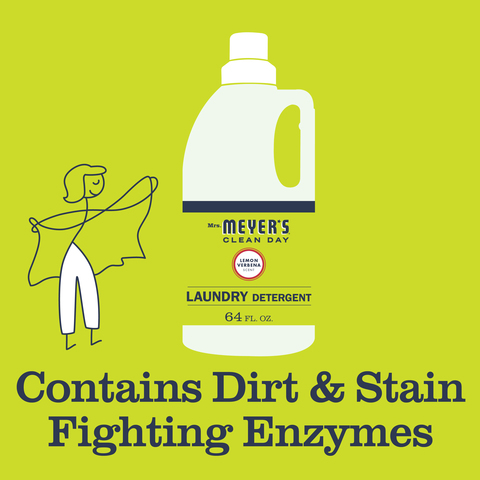Mrs  Meyer's Clean Day Laundry Detergent Liquid Lavender
