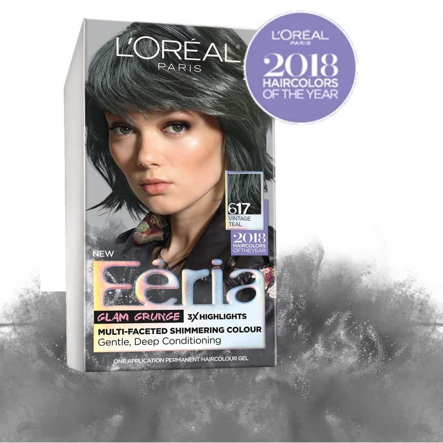 Feria Permanent Haircolour Gel Cooler Bright Black 21 1