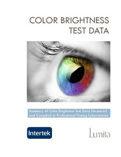 Color Brightness Test Data - opens PDF