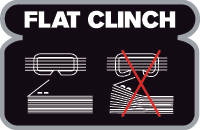 Flat clinch technology