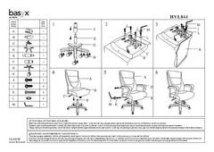 View VL844 Assembly Sheet PDF