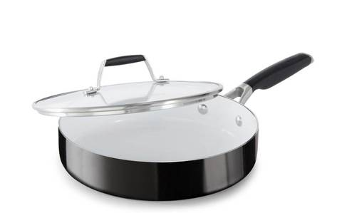 Select By Calphalon 3 Quart Ceramic Non Stick Saute Pan