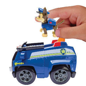 Real Working Wheels. The Paw Patrol Is On A Roll! Chaseu0027s Cruiser ...