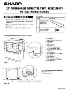 View Flush Mount Deflector Vent Installation PDF