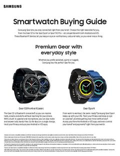 View Smartwatch Buying Guide PDF