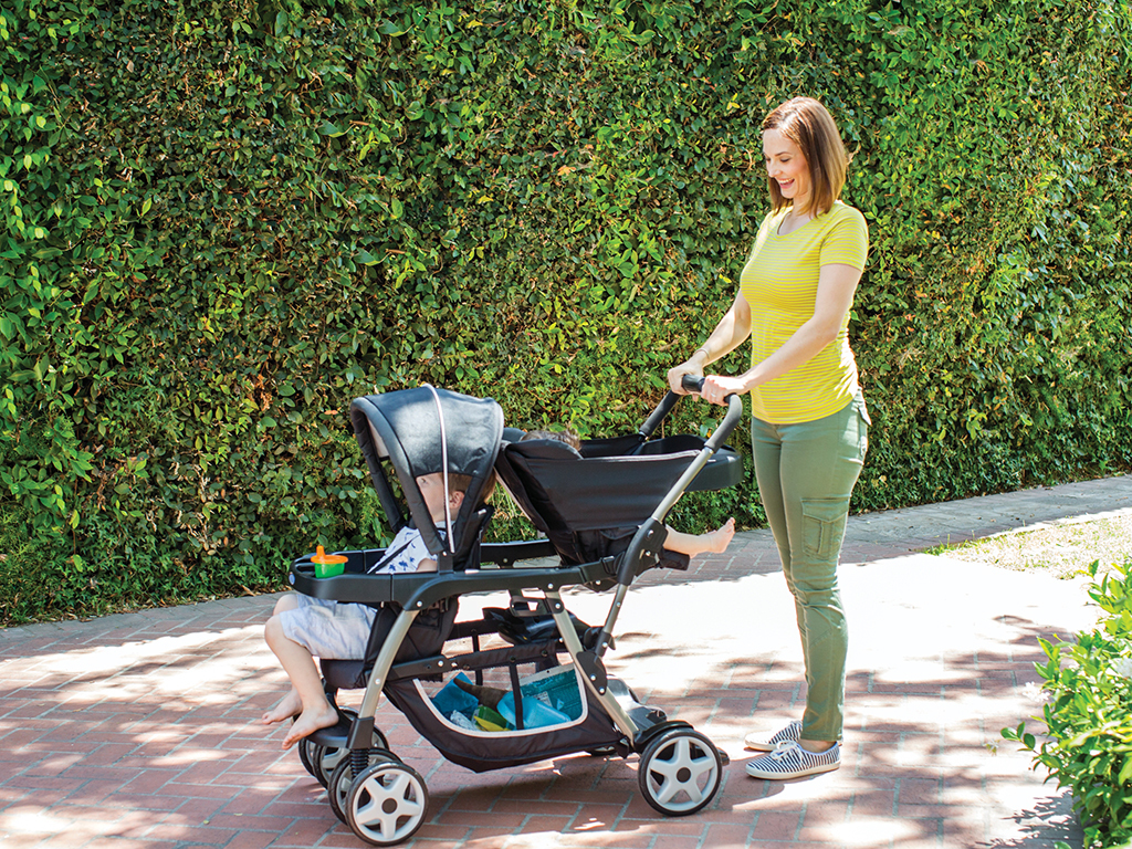 The Graco Ready2Grow Click Connect Double Stroller Is Most Versatile Available This Has 12 Riding Options