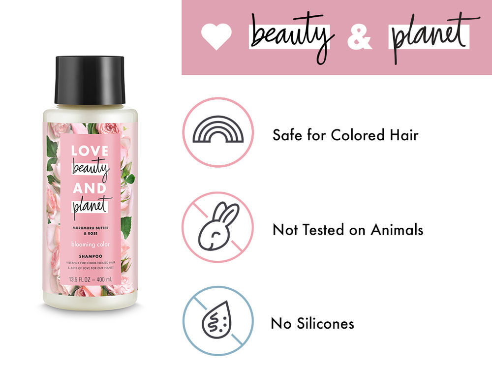 Love, Beauty & Planet Blooming Color Shampoo Murumuru