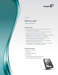 View Barracuda Data Sheet PDF