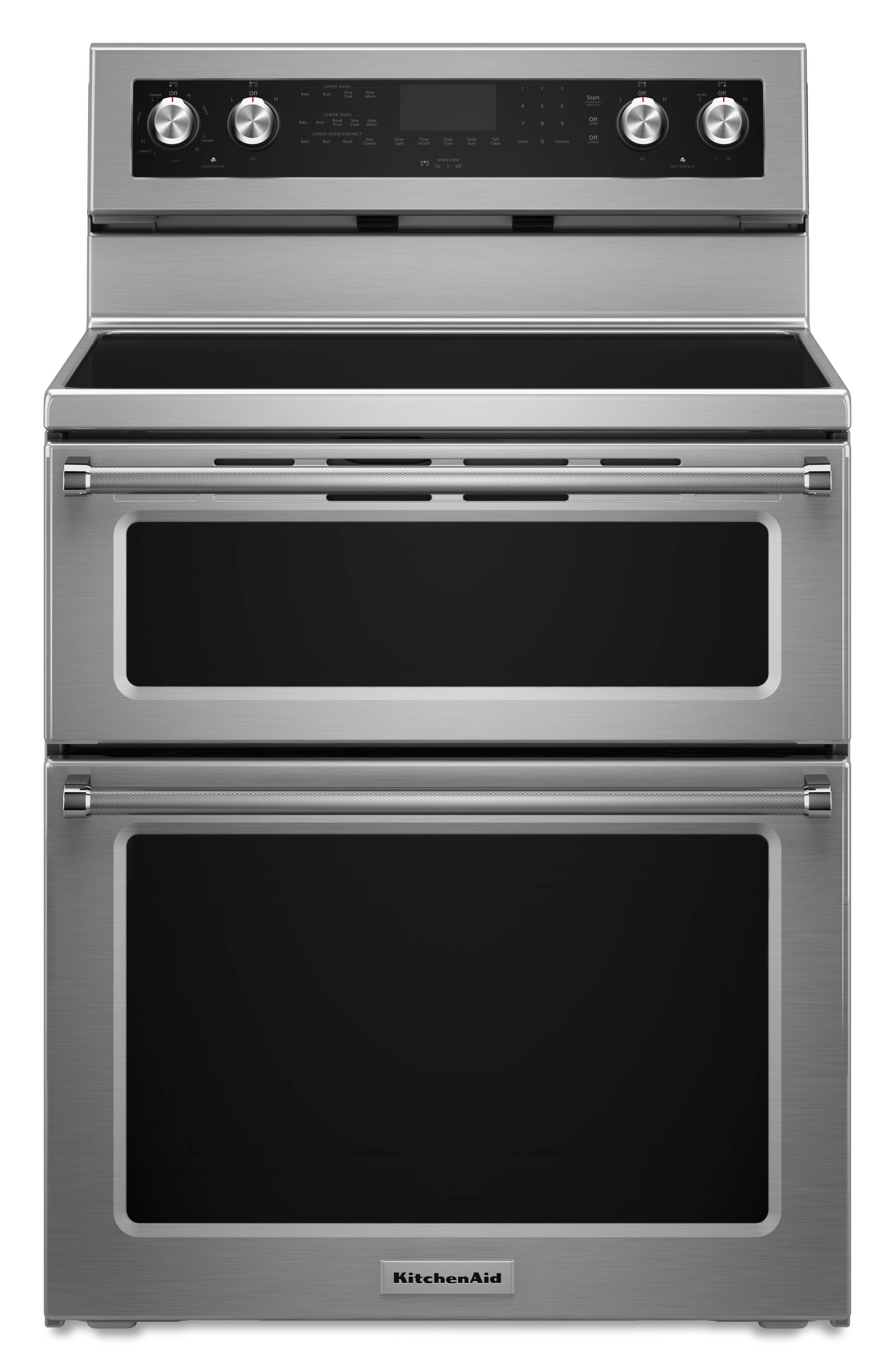 Kitchenaid 30 In Smooth Surface 5 Element 4 2 Cu Ft
