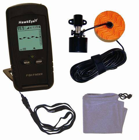 hawkeye portable fish finder - walmart, Fish Finder