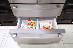 Bosch B21CL80SNS Bottom Freezer Drawer