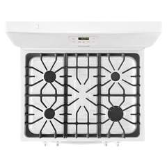 Frigidaire Gas Freestanding Range: FFGF3051TW, Cooking surface