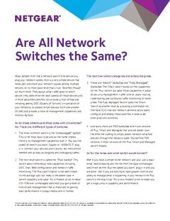 View Are All Switches the Same PDF