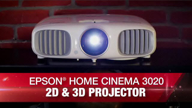 PowerLite Home Cinema 2D and 3D 3020 & 3020e Projector Product Overview