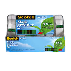 What makes Scotch® Magic™ Greener Tape greener?