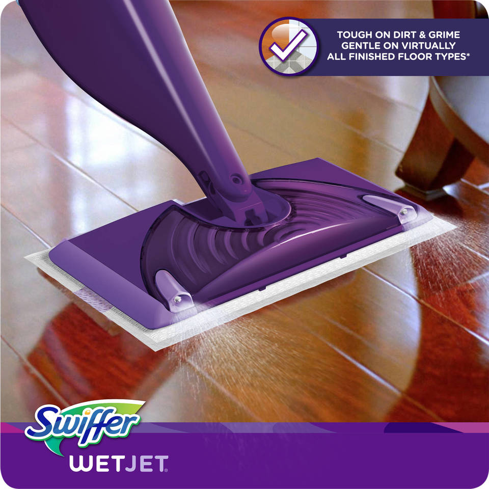 Swiffer Wetjet Starter Kit Purplesilver By Office Depot