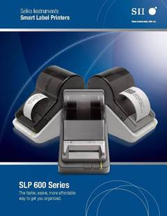 View SLP 600 brochure PDF